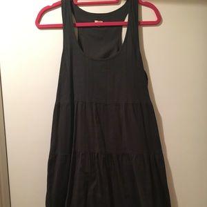 J. Crew sleeveless black cotton dress